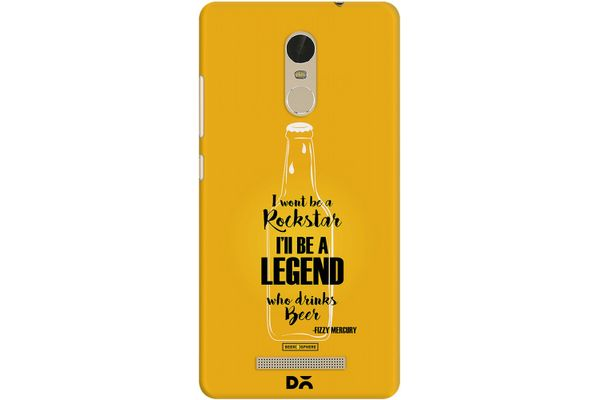 Legends of Beer Case For Xiaomi Redmi Note 3