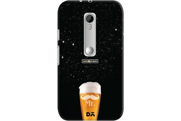 Mr. Beer Galaxy Case For Motorola Moto G3