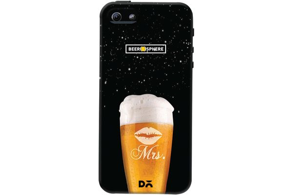 Mrs. Beer Galaxy Case For iPhone 5/5S