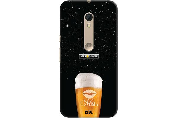 Mrs. Beer Galaxy Case For Motorola Moto X Style