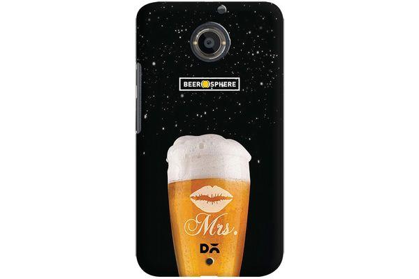 Mrs. Beer Galaxy Case For Motorola Moto X2