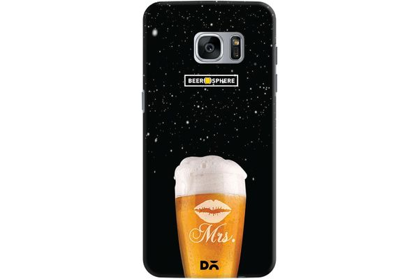 Mrs. Beer Galaxy Case For Samsung Galaxy S7 Edge