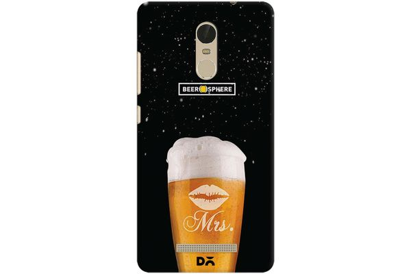 Mrs. Beer Galaxy Case For Xiaomi Redmi Note 3