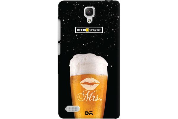 Mrs. Beer Galaxy Case For Xiaomi Redmi Note 4G