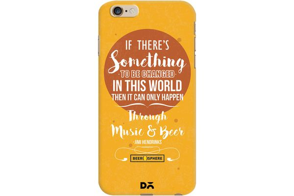 Music & Beer Case For iPhone 6 Plus