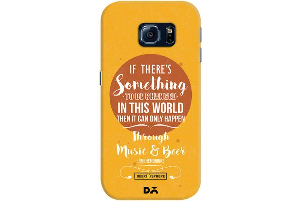 Music & Beer Case For Samsung Galaxy S6 Edge