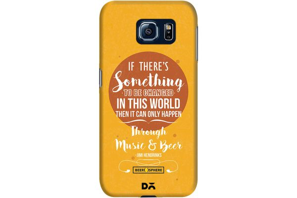 Music & Beer Case For Samsung Galaxy S6