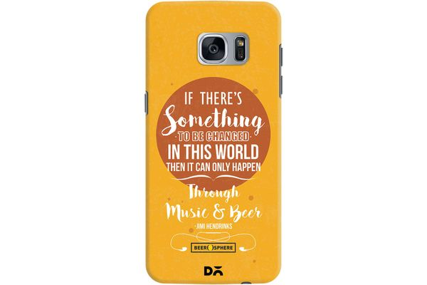 Music & Beer Case For Samsung Galaxy S7 Edge