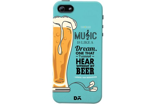 No Beer No Hear Case For iPhone 5/5S