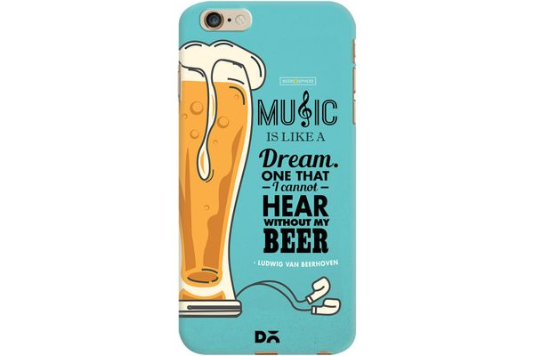 No Beer No Hear Case For iPhone 6 Plus