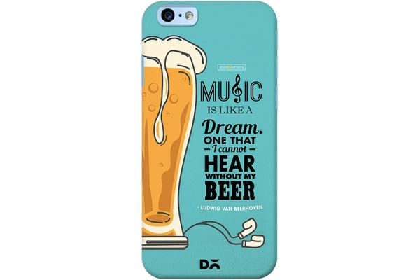 No Beer No Hear Case For iPhone 6