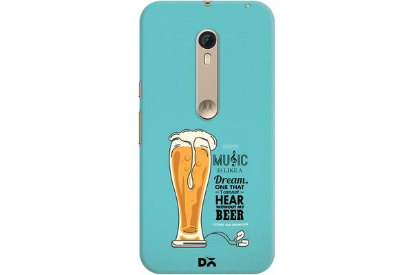 No Beer No Hear Case For Motorola Moto X Style