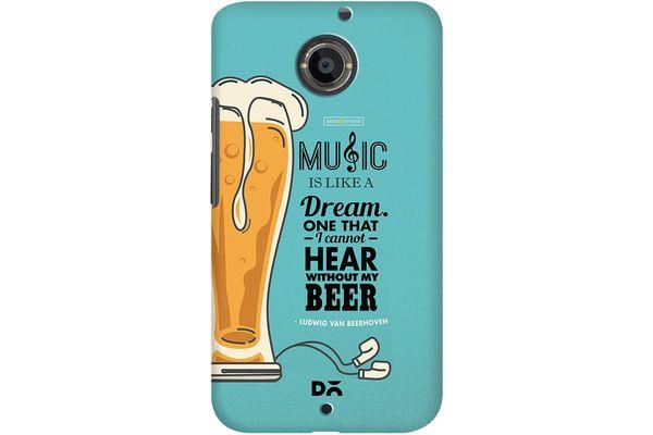 No Beer No Hear Case For Motorola Moto X2