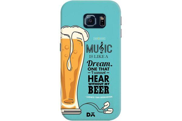 No Beer No Hear Case For Samsung Galaxy S6 Edge