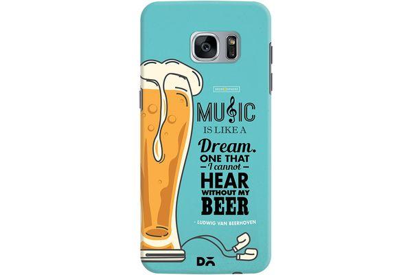 No Beer No Hear Case For Samsung Galaxy S7 Edge