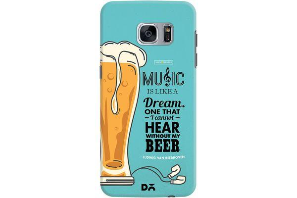No Beer No Hear Case For Samsung Galaxy S7