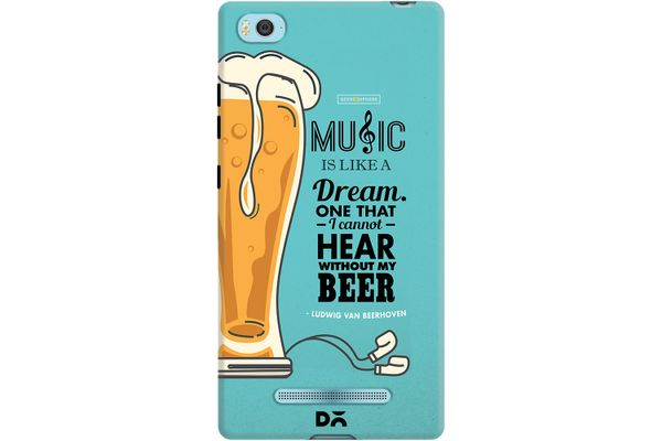 No Beer No Hear Case For Xiaomi Mi 4i