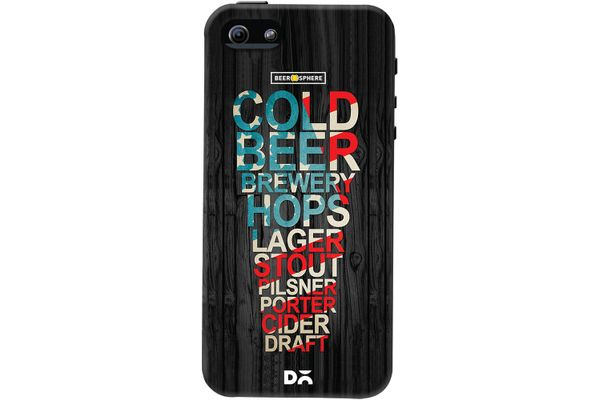 Red White & Beer Case For iPhone 5/5S