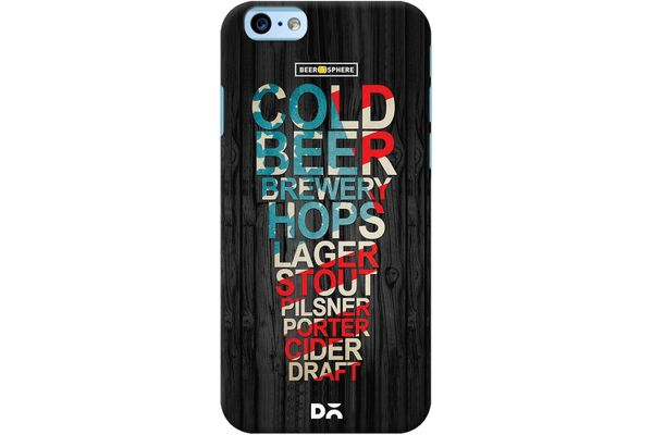 Red White & Beer Case For iPhone 6