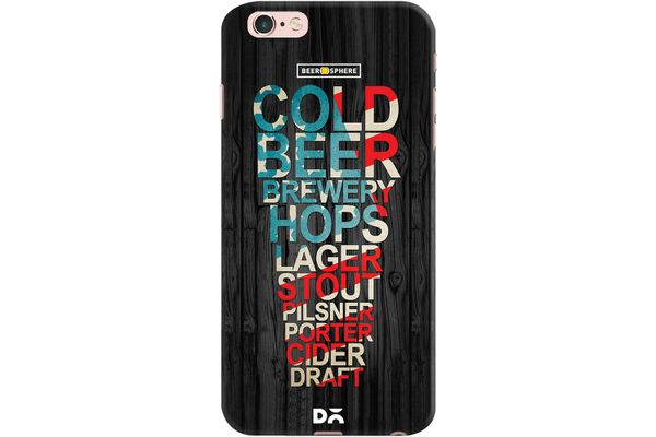 Red White & Beer Case For iPhone 6S Plus
