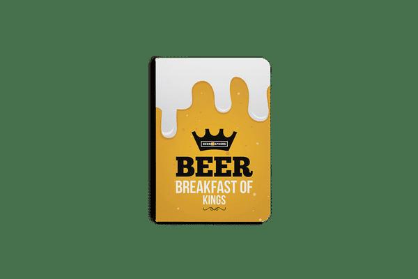 Beer BoK A5 Notebook Plain