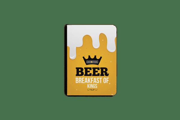 Beer BoK A6 Notebook Plain
