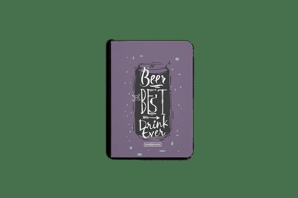 Beer Da Best A6 Notebook Plain