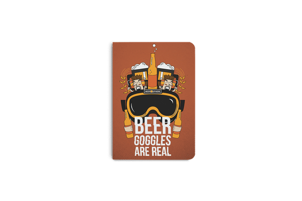 Beer Goggles Real A6 Notebook Plain
