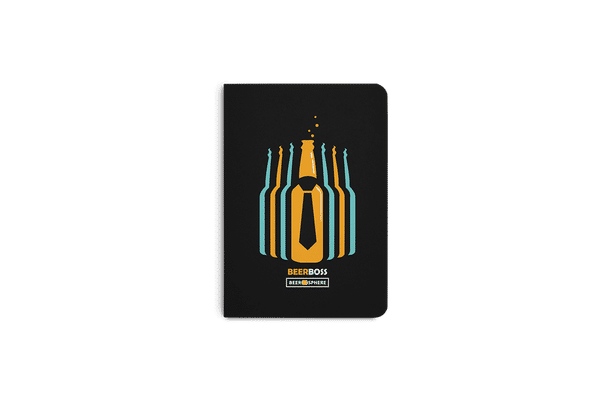 Beer Iz Boss A6 Notebook Plain
