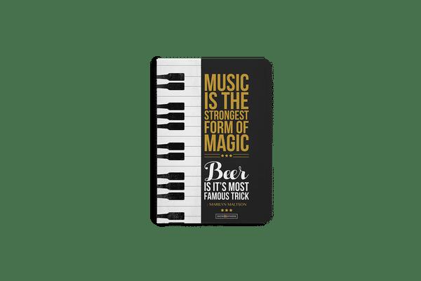 Beer Magic A6 Notebook Plain