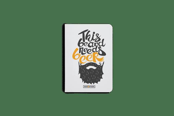 Beer Shampoo A6 Notebook Plain
