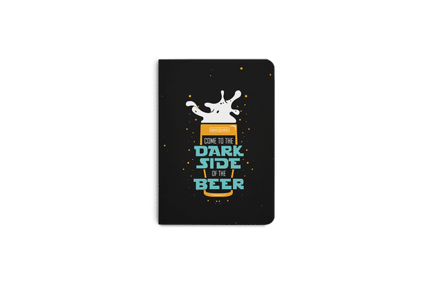 Dark Beer Rules A5 Notebook Plain