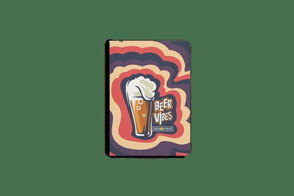 Dizzy Beer Vibes A5 Notebook Plain