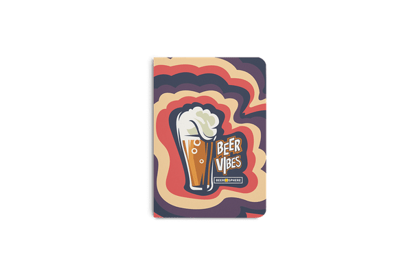 Dizzy Beer Vibes A6 Notebook Plain