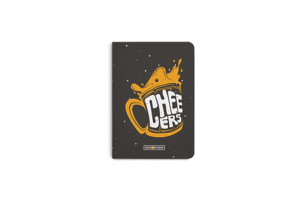 Life is BREWtiful A5 Notebook Plain