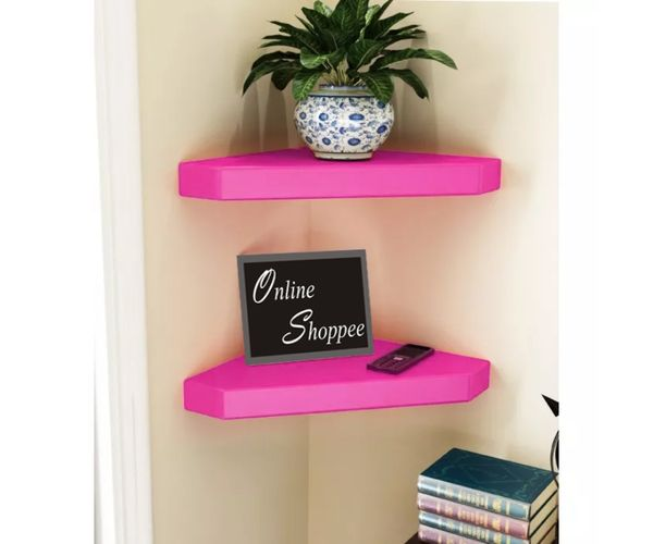 Onlineshoppee MDF Decorative Wall Shelves for Living room empty wall ...