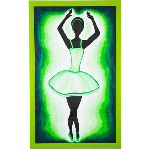 Western move rhythmically - Combo offer; Hand painted art - Size 29.2(H) Inch * 18.2(W) Inch of each art
