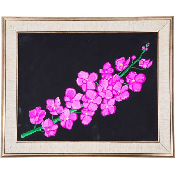 Pleasing to the mind - Hand painted art - Size 13.7(H) Inch * 17.0(W) Inch