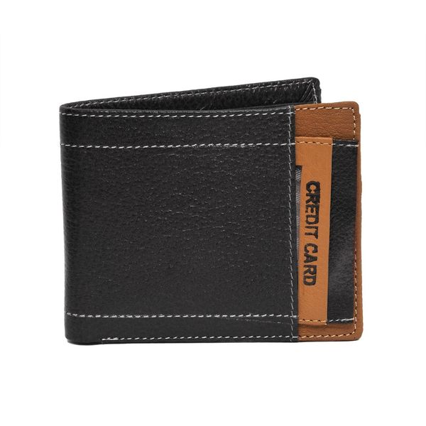 HIDEMARK BLACK LEATHER WALLET