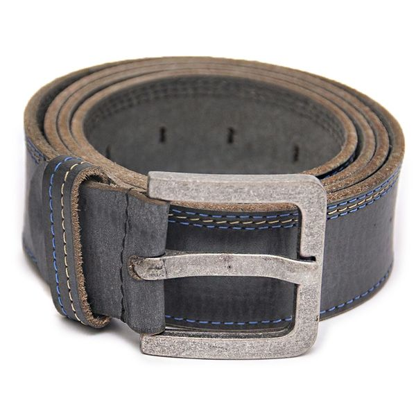 HIDEMARK BLUE CASUAL BELT WITH BROWN
