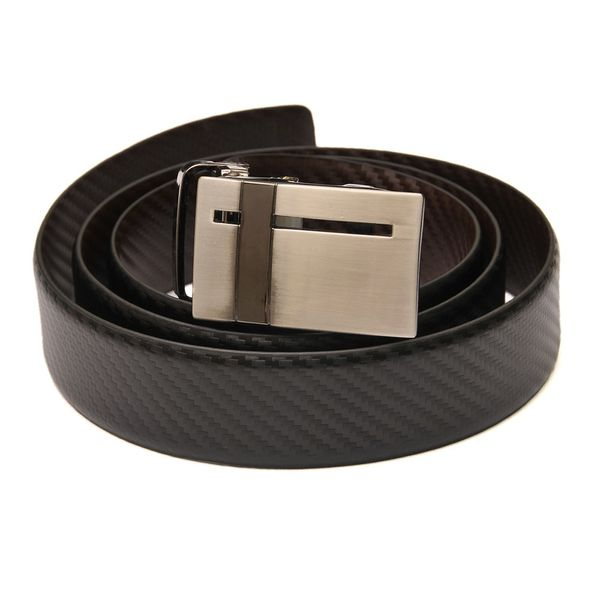 HideMark Checkered Reversible Black and Brown Belt