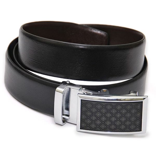EXQUISITE REVERSIBLE FORMAL BELT WITH STYLISH BUCKLE