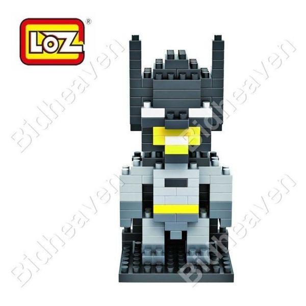 Batman Figure Mini Nano Micro Building DIY Block Brick - LOZ