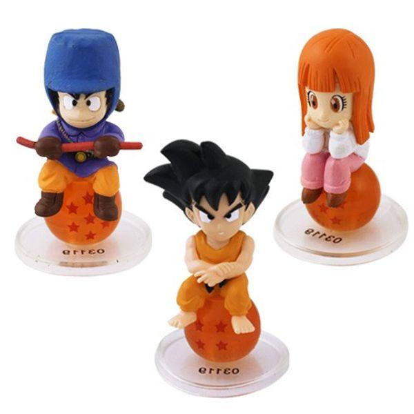 Dragon Ball Z Mini Action Figure - 3 Pcs Set