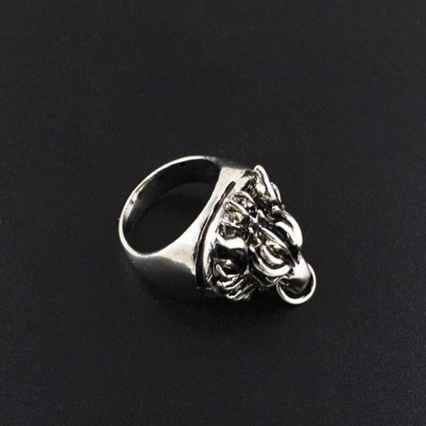 Final Fantasy VII ADVENT Wolf Dragon Finger Ring
