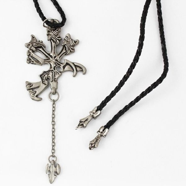 Final Fantasy VII 7 FF7 Pendant Metal Necklace
