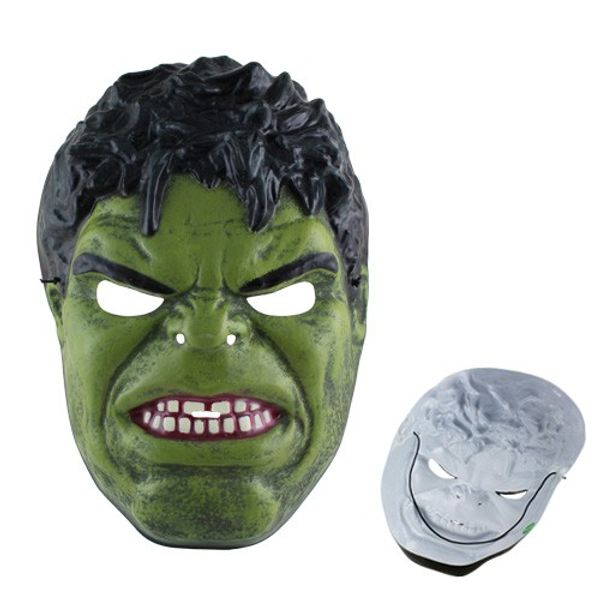 The Incredible Hulk Plastic Camouflage Face Mask for Cosplay Party