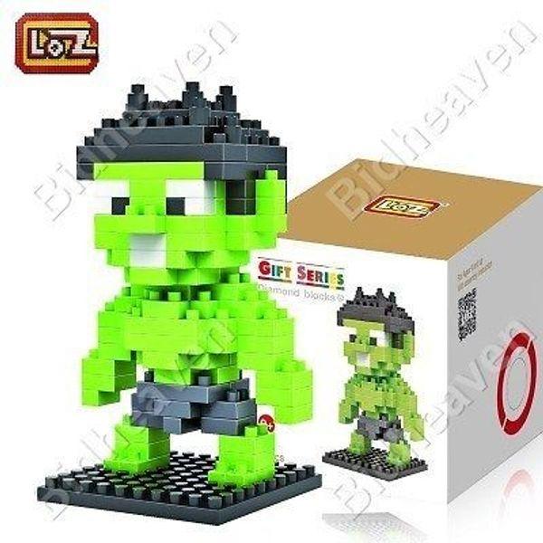 Hulk Figure Mini Nano Micro Building DIY Block Brick - LOZ