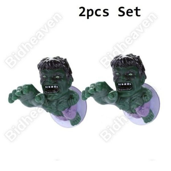 The Incredible Hulk Suction Cup Window Door Cloth Hook Hanger