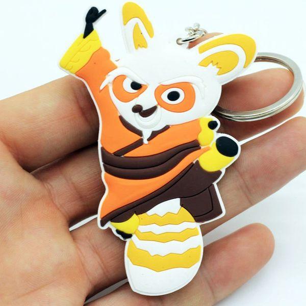 Kung Fu Panda 3 Master Shifu PVC Figure Key Chains Ring Keychain Keyring